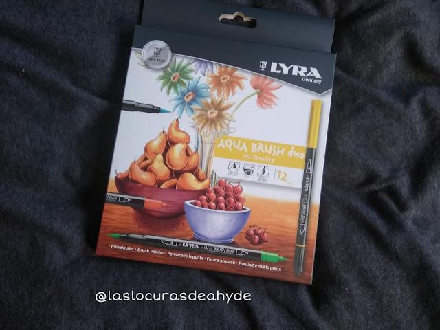 caja 12 rotuladores marca Lyra