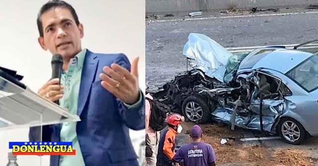 Pastor evangélico murió tras chocar su vehículo en la Autopista del Este