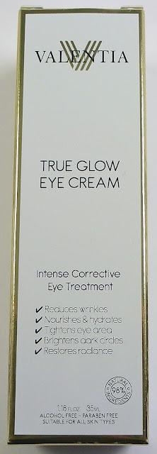 Valentia True Glow Eye Cream