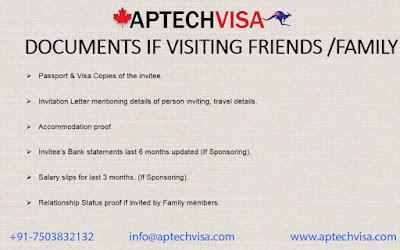 Aptech Visa - Immigration Consultant: Canada Tourist Visa