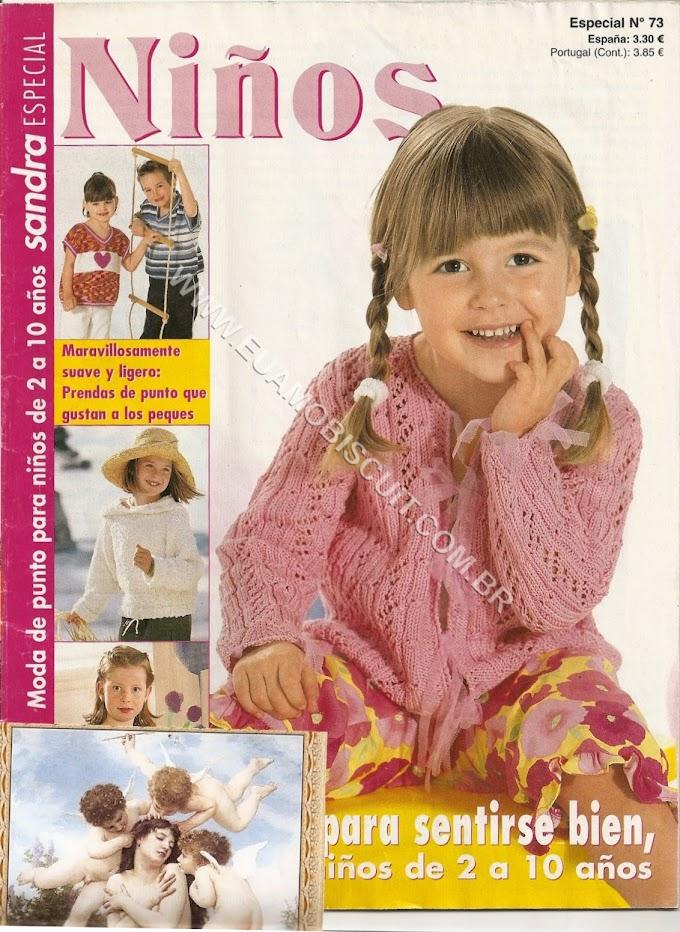 Niños Tricô crochê  - Revista