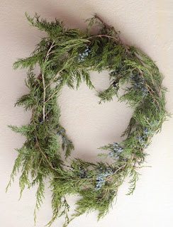 Eco Friendly Kid Activities: Evergreen Wreath