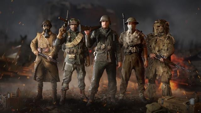 لعبة Call of Duty : WWII تحطم رقم جزء Advanced Warfare على خدمة Steam في ظرف شهر فقط !