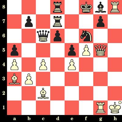 Les Blancs jouent et matent en 4 coups - Sofia Polgar vs Rumiana Gocheva, Novi Sad, 1990