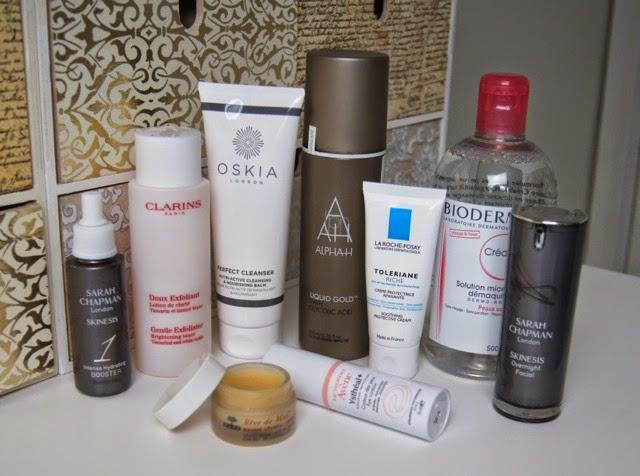 autumn winter skincare routine for dry dull sensitive eczema-prone skin