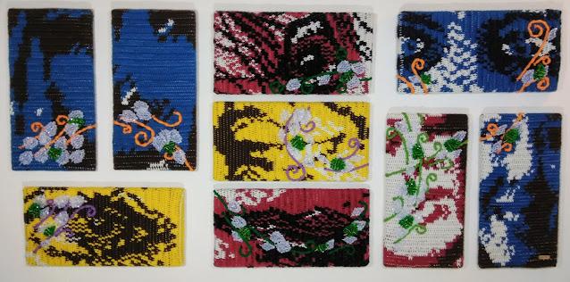 Self Talk:  Bipolar Fine Art Tapestry by Jen Ten Art