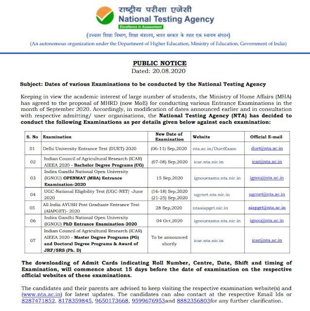 UGC NET Examination