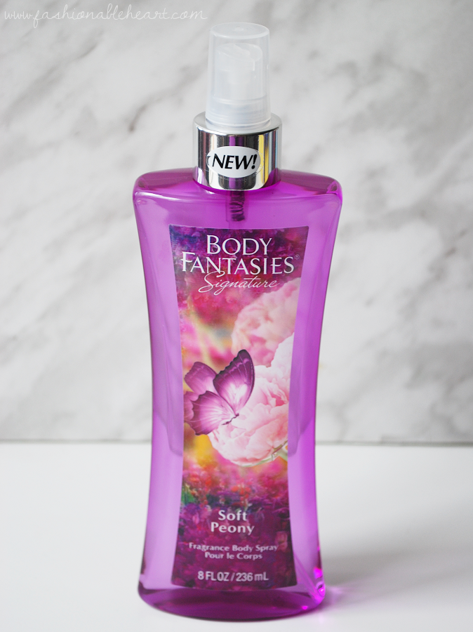 bbloggers, bbloggersca, canadian beauty bloggers, body fantasies, signature, soft peony, flower seeds, wisteria, apple, sweet melon, raspberry, floral, perfume, body spray, fragrance, shoppers drug mart, review, scent