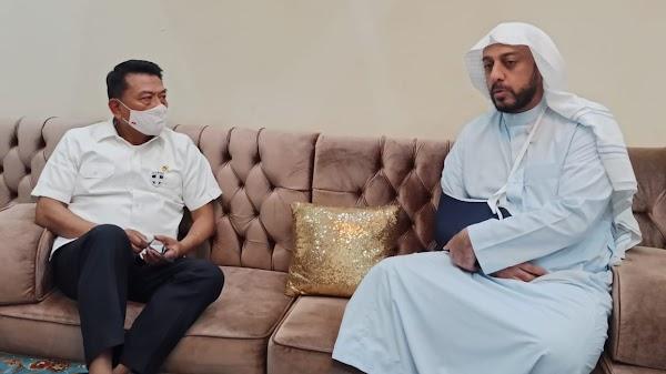 Jenguk Syekh Ali Jaber, Moeldoko: Ini Bukan Kriminalisasi Ulama