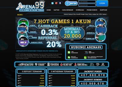 Website Judi Poker Paling Tenar Di Indonesia