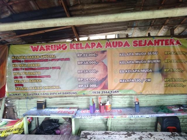 Harga Kelapa Bakar di Bandung