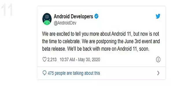 Google delays next week's Android 11 Beta release 2020: Why?