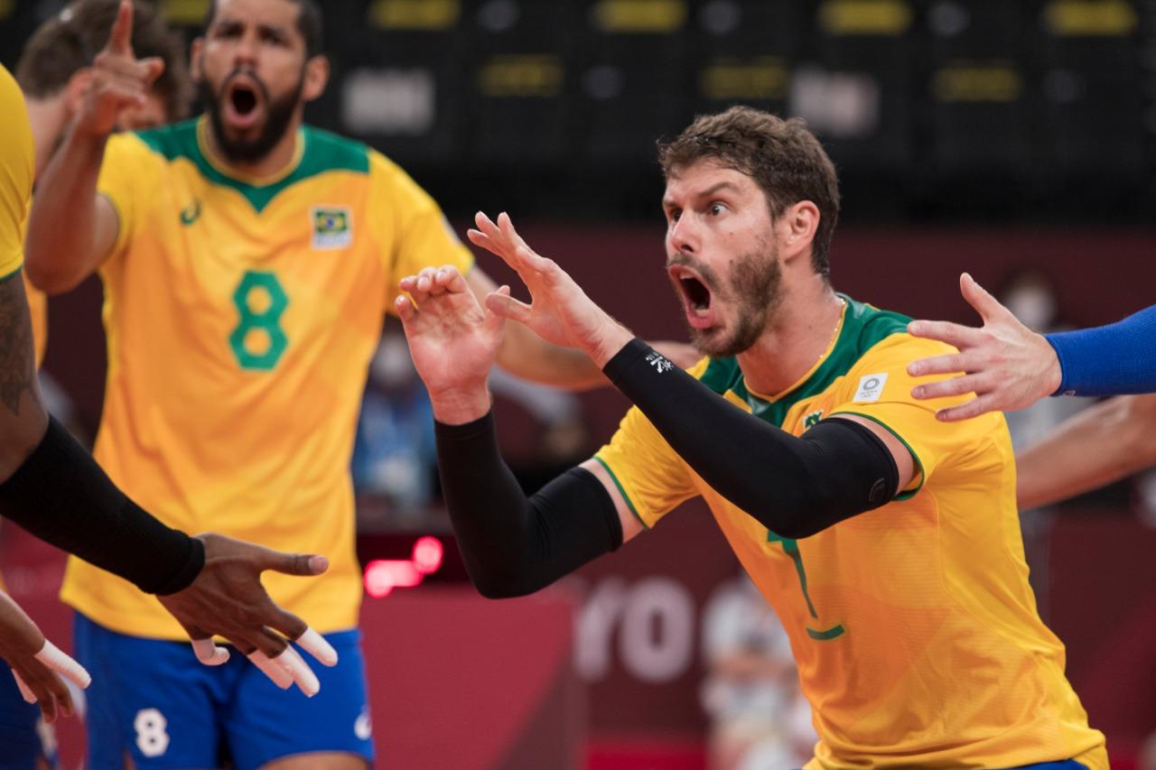 Brasil x Argentina vôlei masculino
