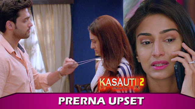 Heart Broken Twist : Prerna hugs Anurag for the last time in Kasautii Zindagii Kay