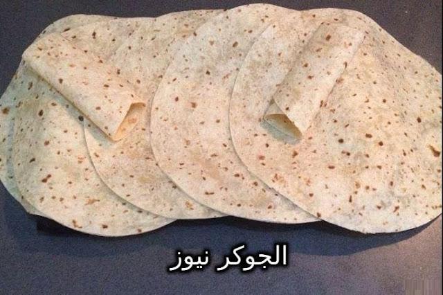 طريقة عمل خبز الشاورما