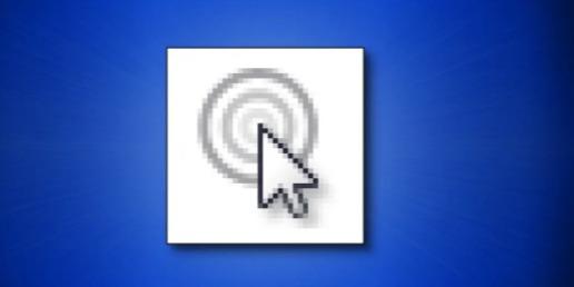 كيفية تحديد موقع مؤشر الماوس بسرعة على ويندوز 10