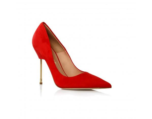 Fashion For Linda Kurt Geiger Elliot Red Shoes