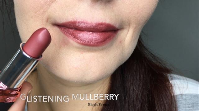 Avon Velvet Luminosity Metalik Mat Ruj Glistening Mulberry