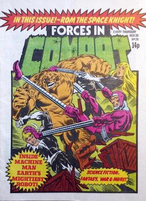 Forces in Combat #29, Machine Man