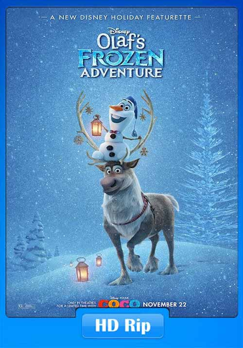 Olafs Frozen Adventure 2017 480p WEB-DL 100MB x264 Poster