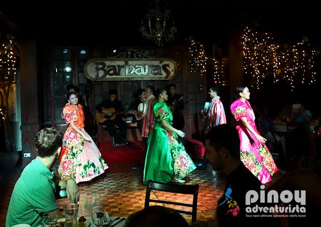 Barbaras Restaurant Intramuros Menu