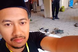 Pose Paling Cakep Sarip Hidayat Jalqn-Jalan di Ciwidey
