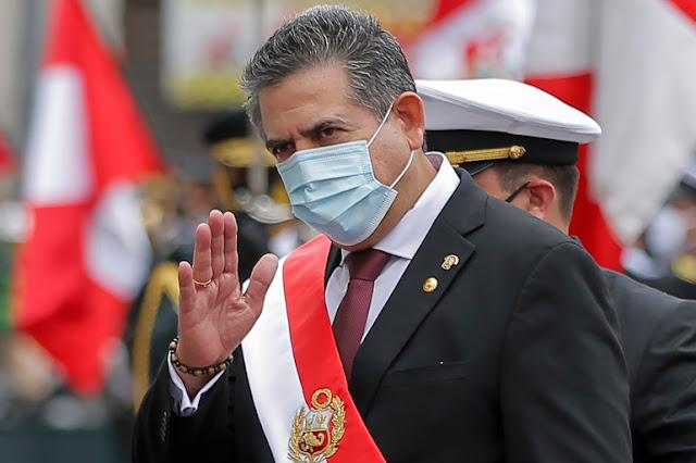 Didemo Rakyatnya Terus Menerus, Presiden Peru Mundur
