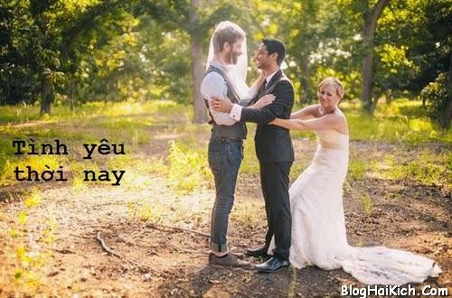 Ảnh vui đám cưới đồng tính