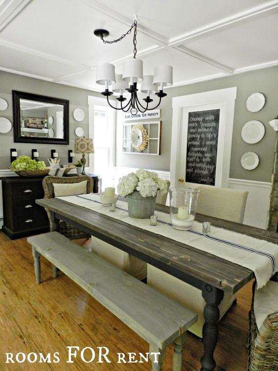 40 1 diy do it yourself - Awesome traditional dining room design ideas and inspirations ...