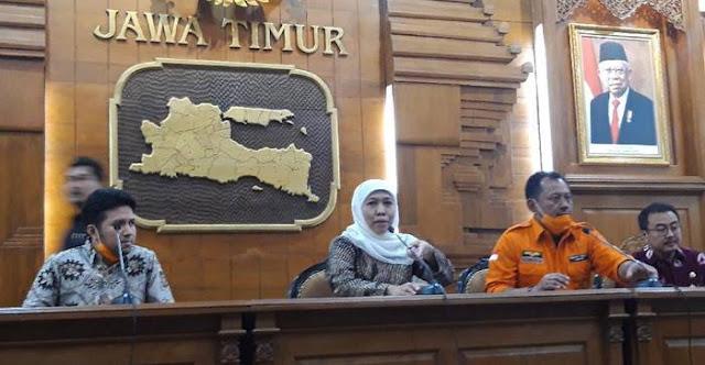 Khofifah: Jawa Timur Darurat Bencana Penyakit akibat Covid-19