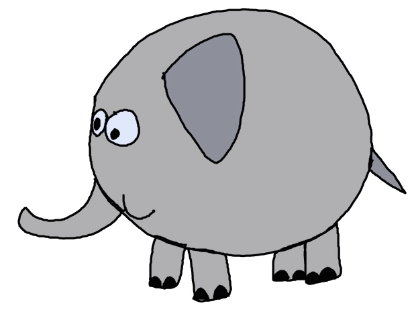 10it is a funny elephant isnt it