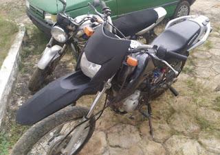 Motocicleta furtada