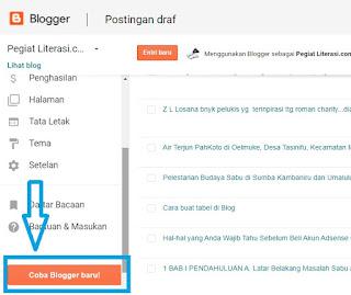 cara buat tabel di blog
