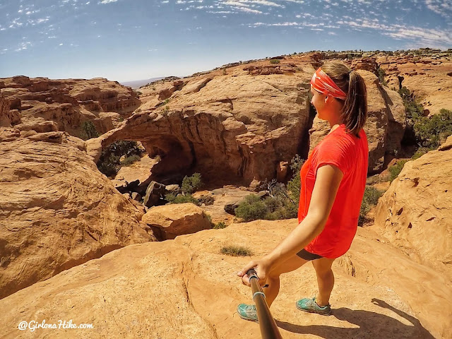 Hiking to the Hurst Natural Bridge, San Rafael Swell