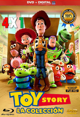 Toy Story Colección 4X1 HD DVD LATINO 5.1