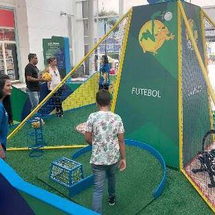 Shopping Grande Rio promove experiência exclusiva ligada ao Time Brasil