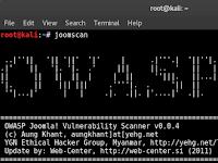 Cara Mencari Bug CMS Joomla di Kali Linux | Information Gathering