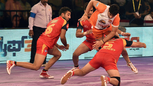 Bengaluru Bulls defeat Puneri Paltan