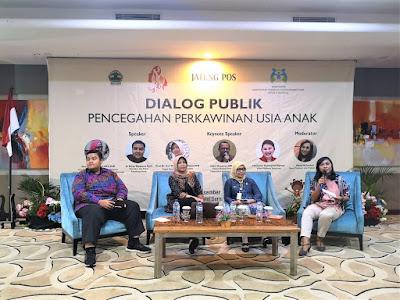 dialog publik perkawinan usia anak