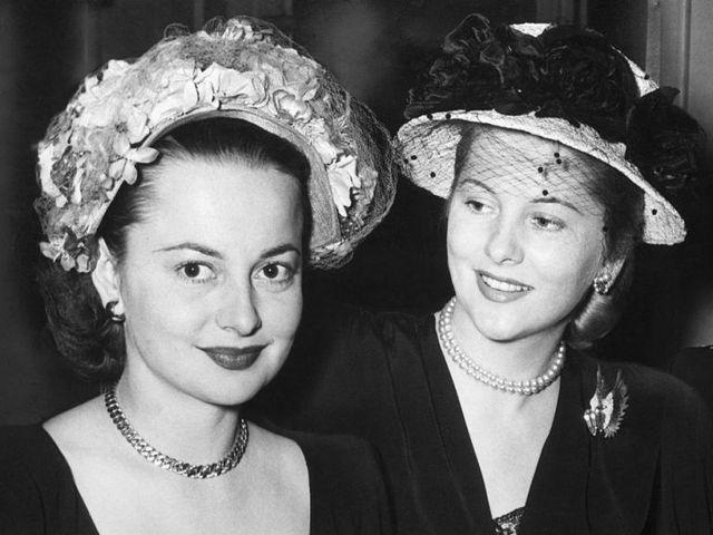 Irmãs e rivais: a rixa entre Olivia de Havilland e Joan Fontaine