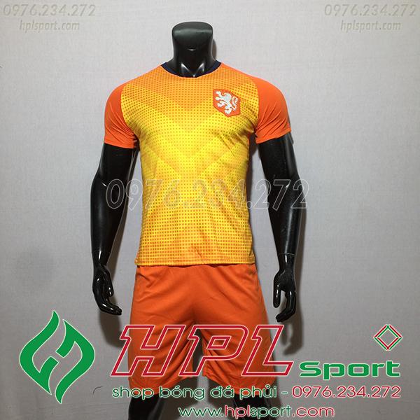 Áo training đội tuyển Hà Lan màu cam 2020