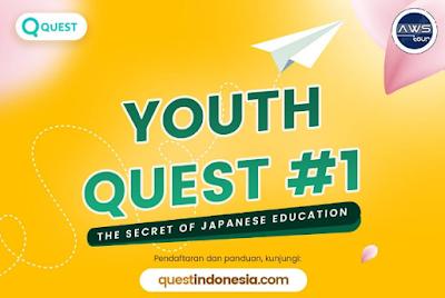 GRATIS KE JEPANG UNTUK 4-8 ORANG TERPILIH DARI QUEST FOR YOUTH!