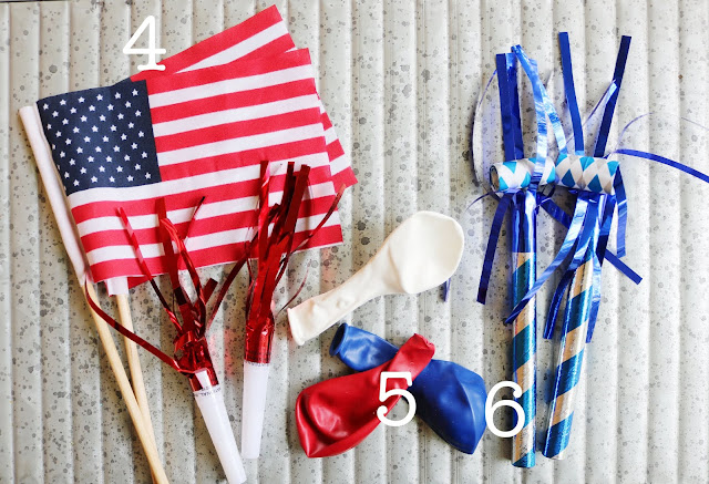 Fourth July Celebration Favor Bag Fillers 2