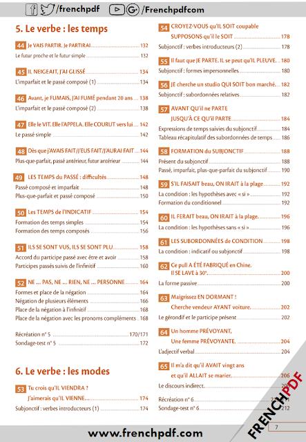 Grammaire progressive du français perfectionnement pdf + les corrigés