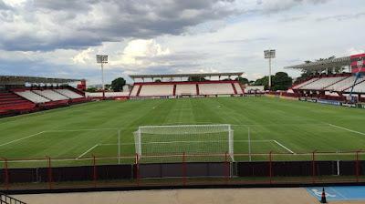 Jogo entre Aparecidense x Jaraguá será no Estádio Antônio Accioly