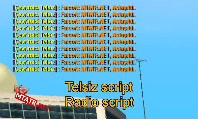 MTA SA Telsiz Script