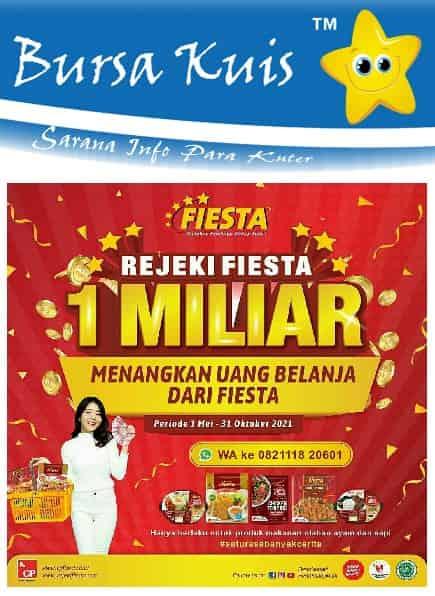 Promo Undian Fiesta Nugget Berhadiah Uang Tunai
