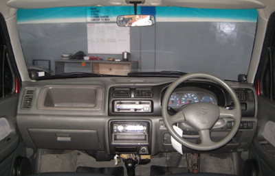 Interior Suzuki Karimun Kotak / Classic