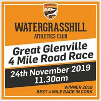 4 miler just to the N of Cork City - Sun 24th Nov 2019