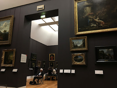 Gallery 845 in The Louvre Paris